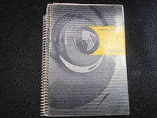 USED 1963 PORSCHE 356-B  OWNERS MANUAL BOOK DRIVERS HANDBOOK GERMAN GENUINE