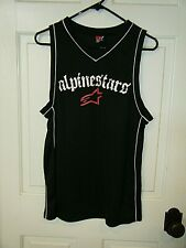 Alpinestars Mesh Basketball Tank Top Black Sz M