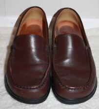 Birkenstock FootPrints Burgundy Women's Slip-On Loafer Sz 38 Excellent