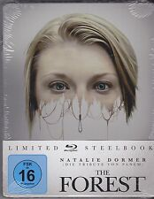 Blu-ray - THE FOREST - Limited STEELBOOK Edition - Natalie Dormer - NEU & OVP