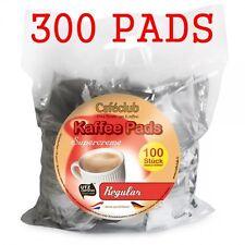 300 Kaffeepads Caféclub Megabeutel Regular 3 x 100 Pads EINZELN AROMA -VERPACKT!