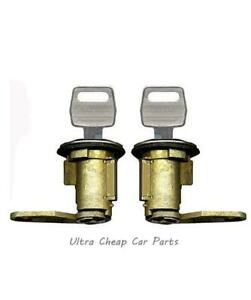 Door Locks For Ford F100 F150 F250 F350 1981 to 10/1991 New Pair + Keys