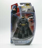 "BATMAN Total Heroes Action Figure Mattel DC Comics 6"" NEW FREE SHIPPING"