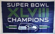 More details for american football- seattle seahawks superbowl flag (3ftx5ft)