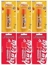 12 x Lip Smacker Lipsmacker BIGGY Lip Balm (6 x Fanta, 6 x Coca Cola) job lots