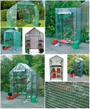 NEW Greenhouse Walk-in On-Wheels Garden Greenhouse Covers Outdoor Waterproof