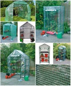 NEW Greenhouse Walk-in On-Wheels Garden Greenhouse Covers Outdoor Waterproof