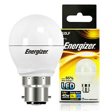 2 Energizer 5.9 Watt LED Golf BC B22 Cap Energy Saving Light Bulb 40w Equivalent