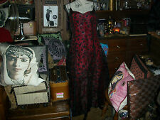 """ASPEED Wonderful """"Lady In Red+Black""""Ball Gown Dress Size 13/14"""