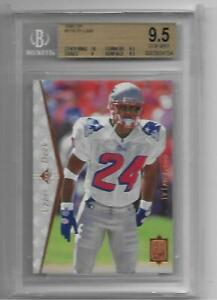 1995 SP TY Law #2 Card RC NEW ENGLAND PATRIOTS BGS 9.5 GEM MINT
