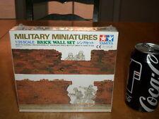 Brick Wall Set -- Military Miniatures, TAMIYA Plastic Model Kit, Scale 1/35
