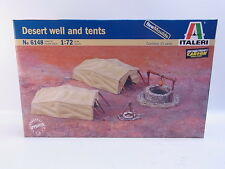 LOT 38905 | Italeri 6148 Desert well and tents 1:72 Bausatz NEU in OVP