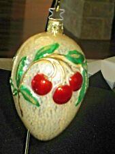 Old World Christmas By Inge Glas-Glistening Cherries