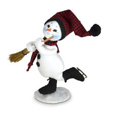 Annalee Dolls 2021 Christmas 9in Winter Woods Snowman Plush New with Tag