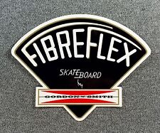 Gordon & Smith G&S Fibreflex Black Skateboard Sticker reissue si
