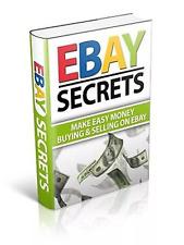 101 eBay Auction Secrets & Bonus 10 marketing online ebooks Resell rights pdf
