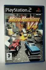 MICRO MACHINES V4 GIOCO USATO OTTIMO STATO SONY PS2 EDIZIONE ITALIANA GD1 41872