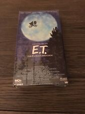 RARE SEALED E.T. THE EXTRA-TERRESTRIAL NEW OOP VHS GREEN/BLACK VIDEO COLLECTIBLE