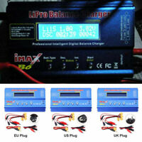 IMAX B6 RC 80W Digital Balance Charger for Lipo NiMH NiCd Battery+12V 5A Adapter