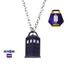 Tardis Pendant Phone Booth Pendant Dr Who Bbc Logo Necklace #Dwhotdpnk02