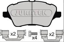 FORD FIESTA MK7 2012 -  QUALITY JURATEK FRONT BRAKE PADS JCP4612