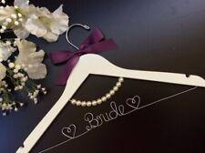 Wedding Hanger with pearl Bridal Hanger,wedding Hanger,Bride's Gift
