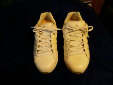 Answer 2 Men's White Leather Diabetic Therapeutic Sneakers Shoes Size 10.5 XWIDE