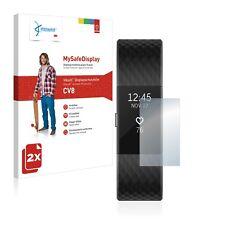 2x Vikuiti Schutzfolie CV8 von 3M für Fitbit Charge 2 Displayschutz