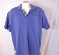 Orvis short sleeve shirt Blue with pink trim size XL