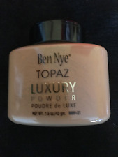Ben Nye  Luxury Topaz Powder 1.5 oz BIG SALE    SEE FEEDBACK