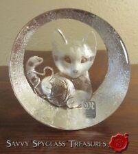 Paperweight Crystal Scandinavian Art Glass