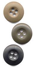 Black, Olive Drab, Khaki Military BDU Uniform Buttons 100 Bag rothco 205