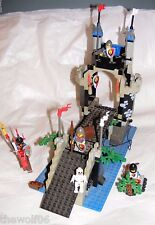 1995 LEGO Castle Royal Knights Royal Drawbridge 6078 COMPLETE with Instructions