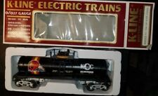 K-LINE K90003 KCC TANK TRAIN CAR WITH SILVER CHASSIS. (15C)