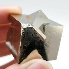 Pyrite Cubes, Inter-grown, from the Victoria Mine in Navajún, La Rioja, Spain