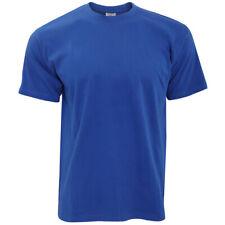 B&C - Camiseta Básica de manga corta y cuello redondo Exact 190 para Azul Royal