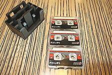 3 x Philips 5,5 MiniCassette Kassette (411)  z.B.F.> Diktiergerät Pocket Memo