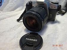 PENTAX MZ30  SLR 35mm CAMERA + TAMRON AF LENS 28-80mm IDEAL STUDENT