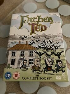 FATHER TED COMPLETE COLLECTION R2 DVD BOXSET Free Postage