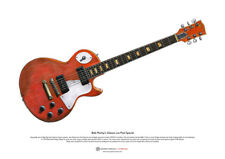 Bob Marley's Gibson Les Paul Special ART POSTER A3 size