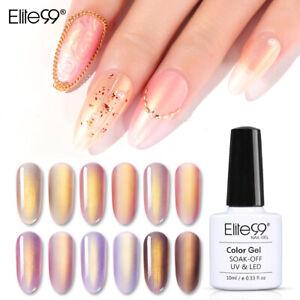 Elite99 Vernis à Ongle semi permanent UV LED Soakoff Nail Art Manucure 10ml