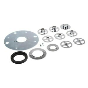 Triton Template Guide Kit for Router with Bushes, Table Spacer and M4 Screws