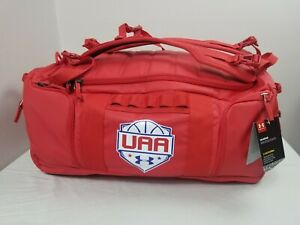 Under Armour Storm Men's UA MOAB UAA Basketball Duffel Bag Backpack Red Size