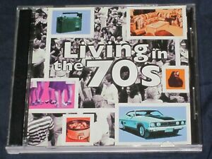 LIVING IN THE 70'S - VARIOUS ARTISTS 2 CD SET