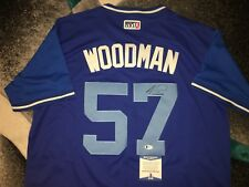 Alex Wood Signed Los Angeles Dodgers Jersey Players Weekend Beckett