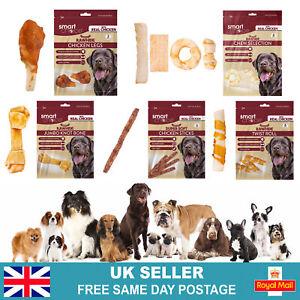 Dog Chews, Bones & Treats | Dental Teeth Cleaning Puppy Treats | Rawhide Chicken