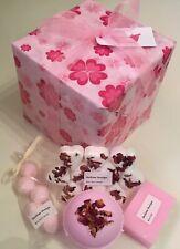 Rose Bath Bomb & Soap Gift Set. Perfect for valentines,birthdays,christmas