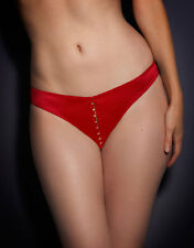 Agent Provocateur JENA Thong M/3 NWT Red Orig. $150