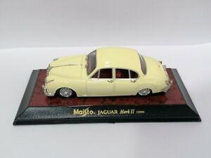 JAGUAR MKII 1959 - MAISTO 1/43 NEW