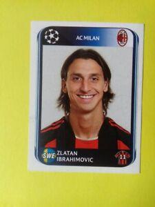 Zlatan Ibrahimovic  Panini Champions League 2010/11